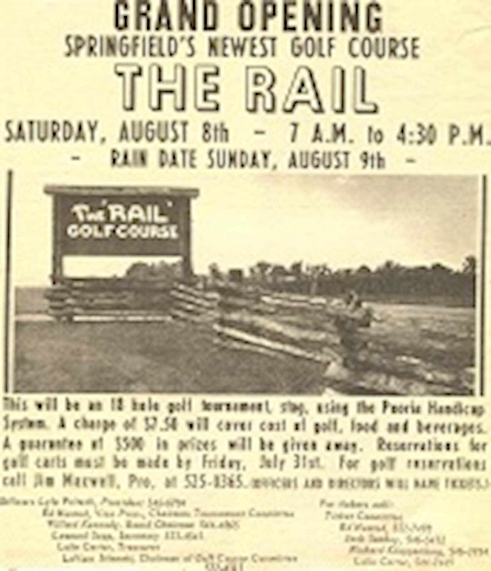 The Grand Opening of the Rail - Village of Sherman, Illinois - image