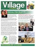 March 2018 Village Newsletter for Sherman, Illinois