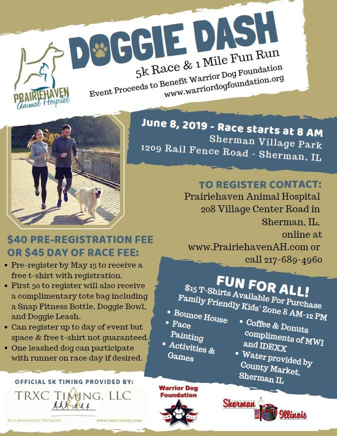 CANCELED - Doggie Dash at Village Park | Village of Sherman