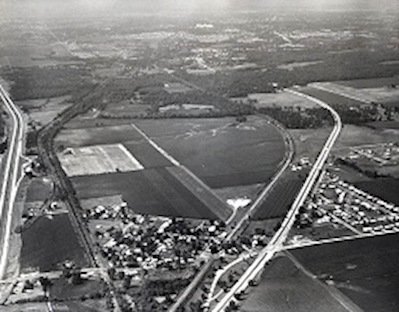 Aerial Photograph of Sherman - Village of Sherman, Illinois - image